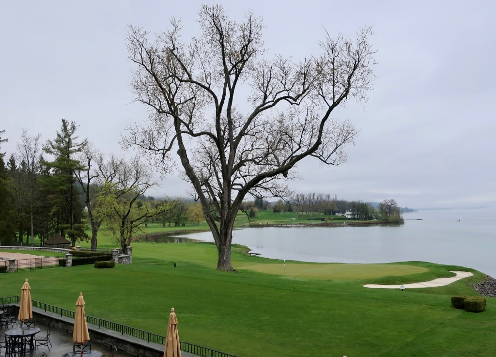 Leatherstocking Golf Course from Otesaga Hotel Cooperstown NY