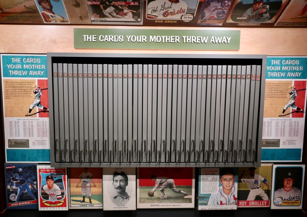 Amusing Cards Your Mother Threw Away Exhibit Baseball Hall of Fame