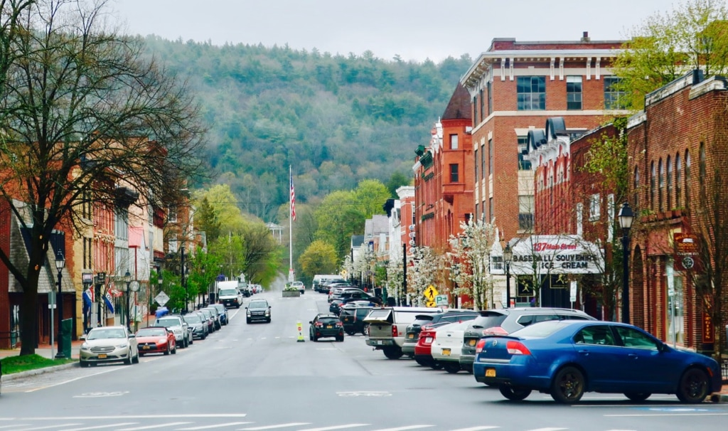 Main Street Cooperstown NY