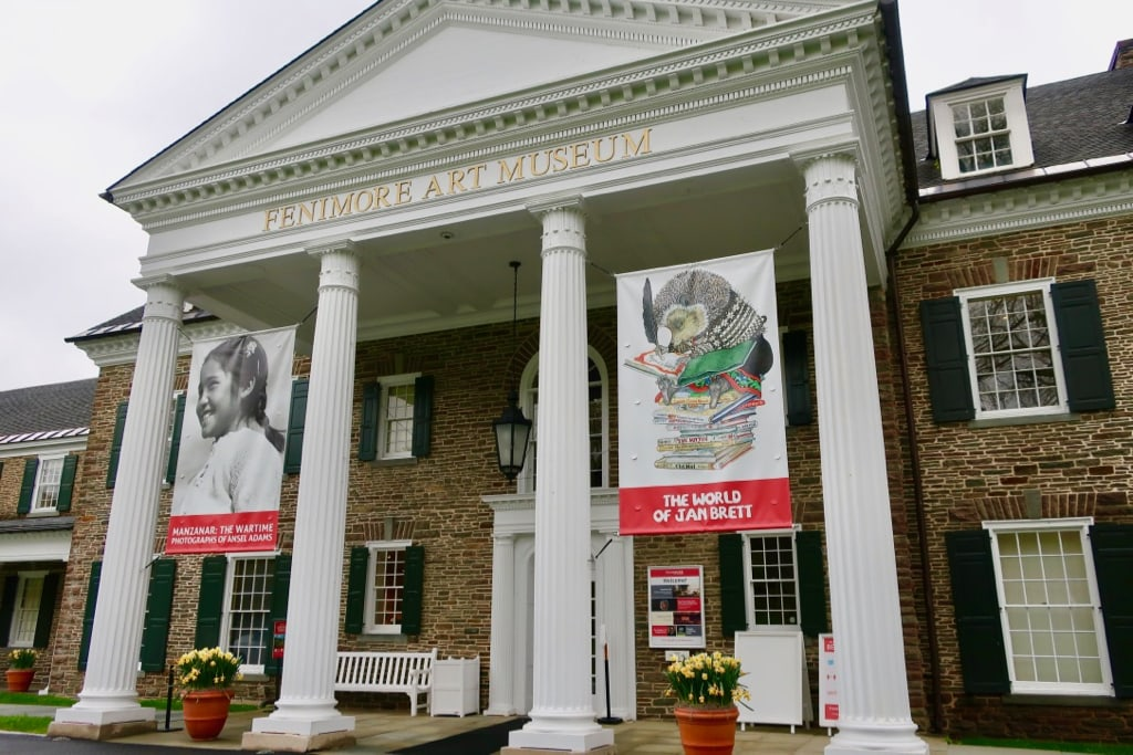 Front facade of Fenimore Art Museum Cooperstown NY