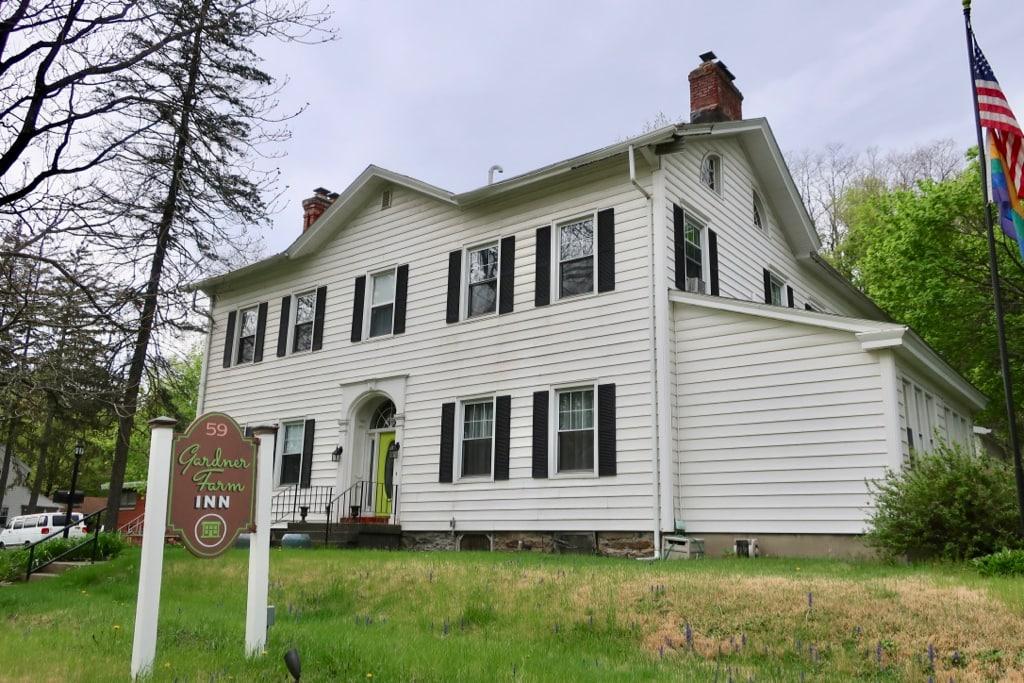Gardner Farm Inn exterior shot Troy NY