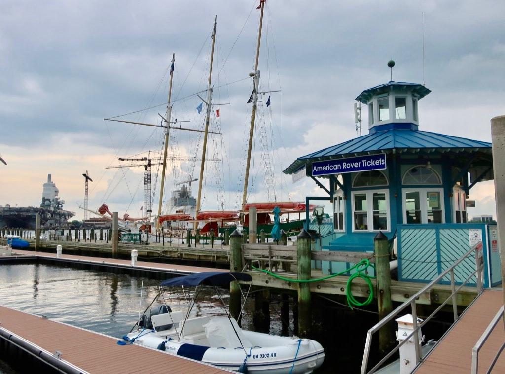 American Rover Sunset Cruise Norfolk