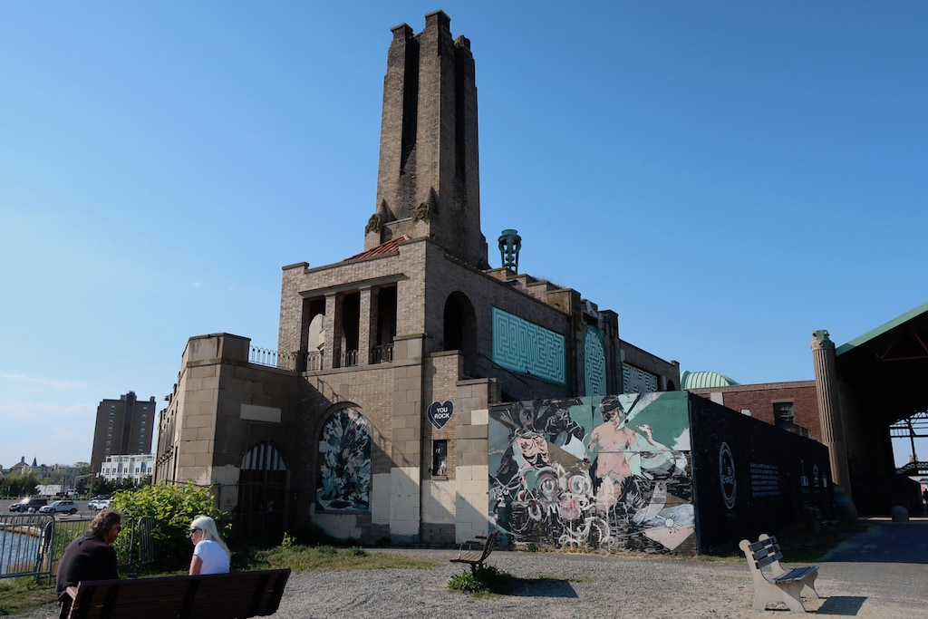 Art amid the ruins at Asbury Park Casino NJ