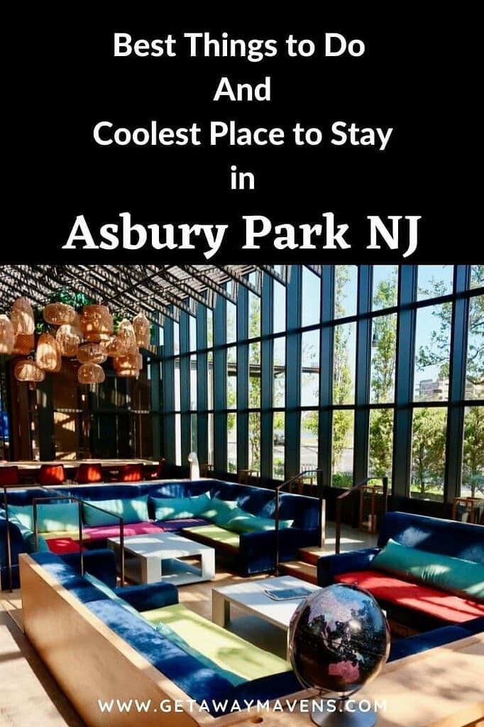 Asbury Park NJ Best Things Pin