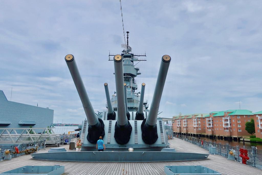 Battleship Wisconsin Norfolk VA