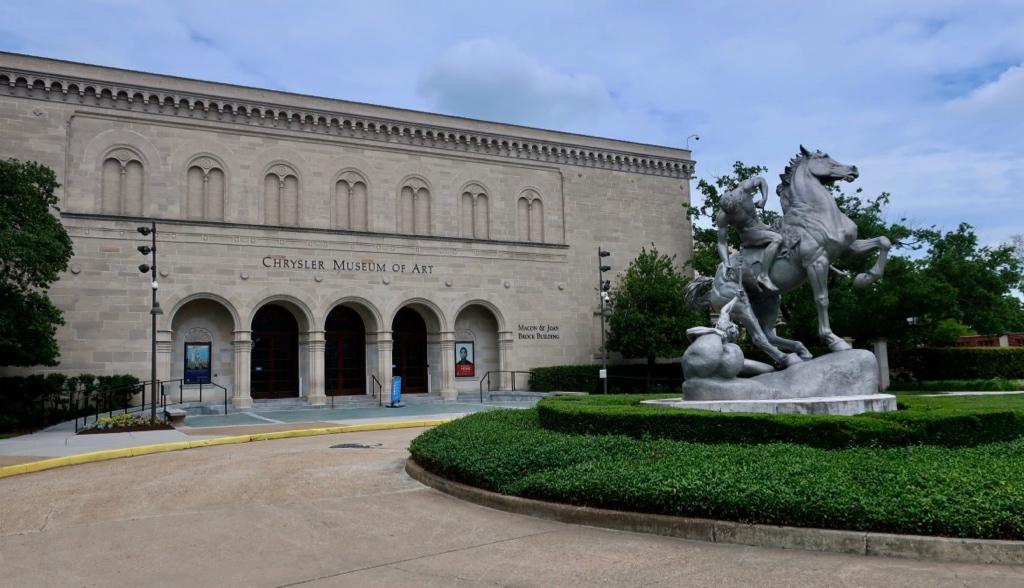 Exterior Chrysler Museum of Art Norfolk