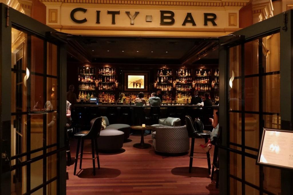 City Bar inside Lenox Hotel Boston