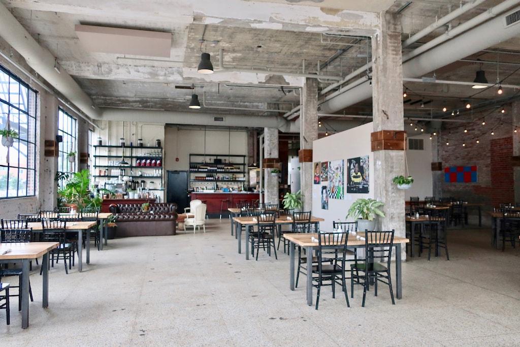 Commune Restaurant NEON District Norfolk