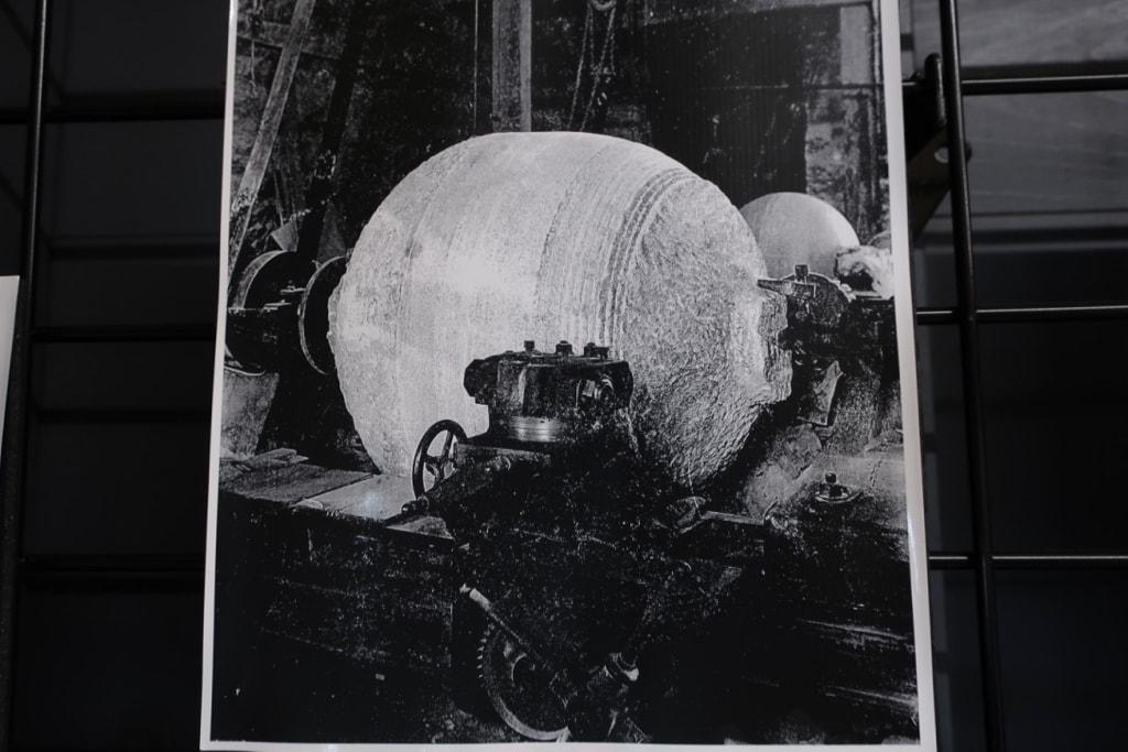 Granite Turning Machine Quincy MA