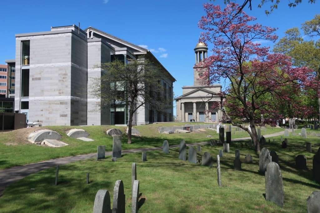 Hancock Cemetery Quincy City Hall and First Presidents Church Quincy MA