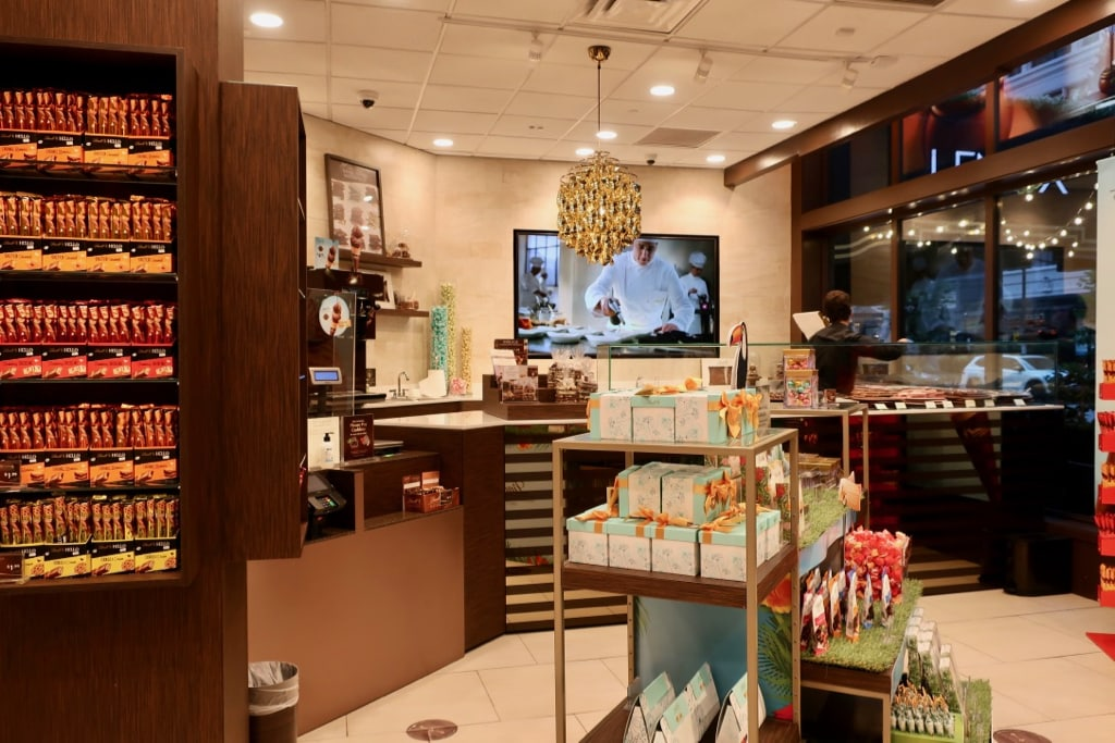 Lindt Chocolate Store at Lenox Hotel Boston MA