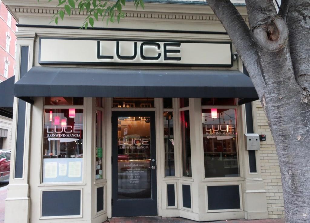 Luce Restaurant exterior Norfolk