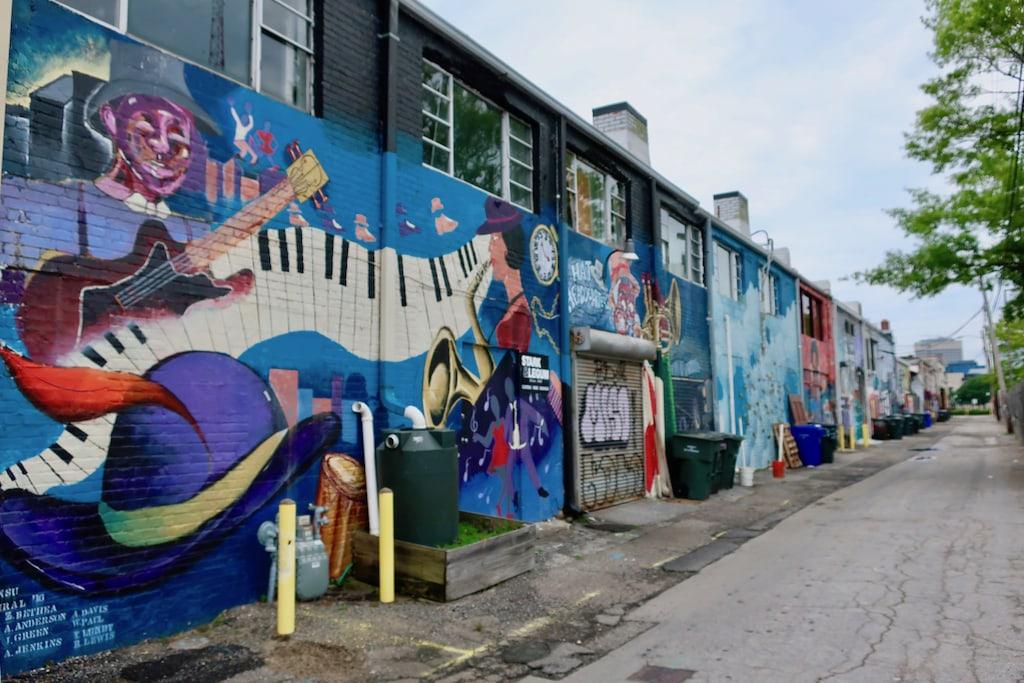 Magazine Lane Graffiti Norfolk VA