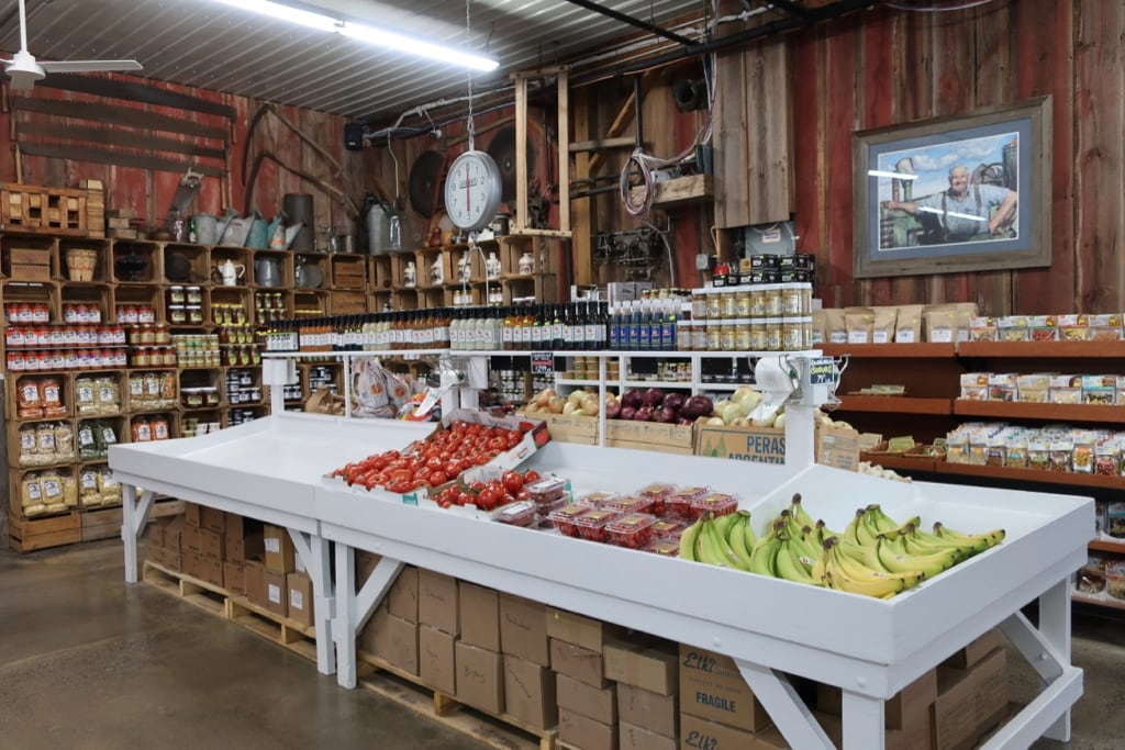 Market goods at North Star Orchards Market and Bakery Westmoreland NY