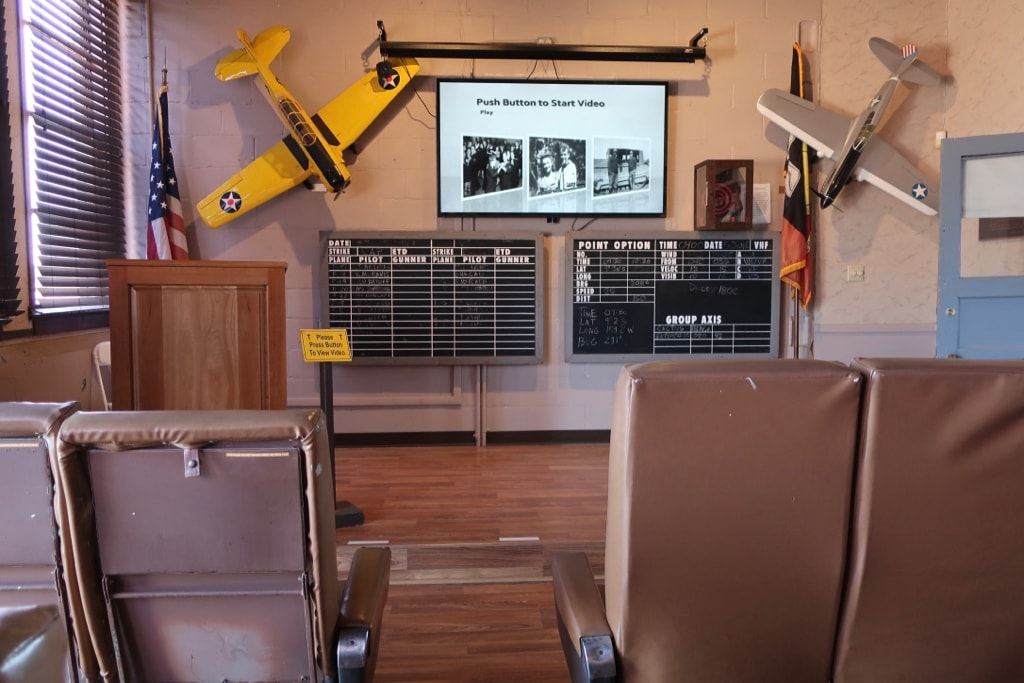 Watch an 8 minute video about Navy Dive Bombers first at NAS Wildwood Museum