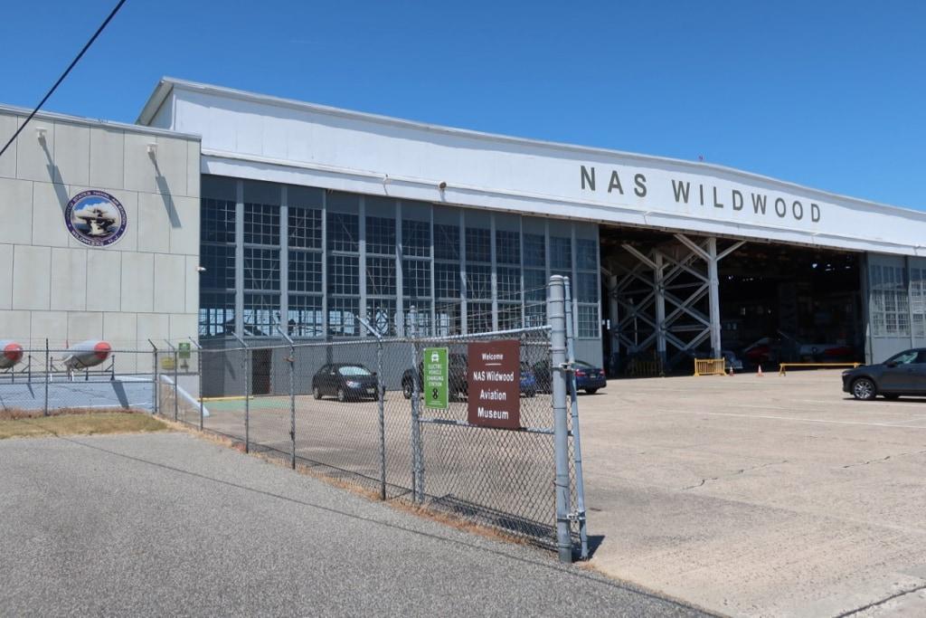 NAS Wildwood Aviation Museum exterior