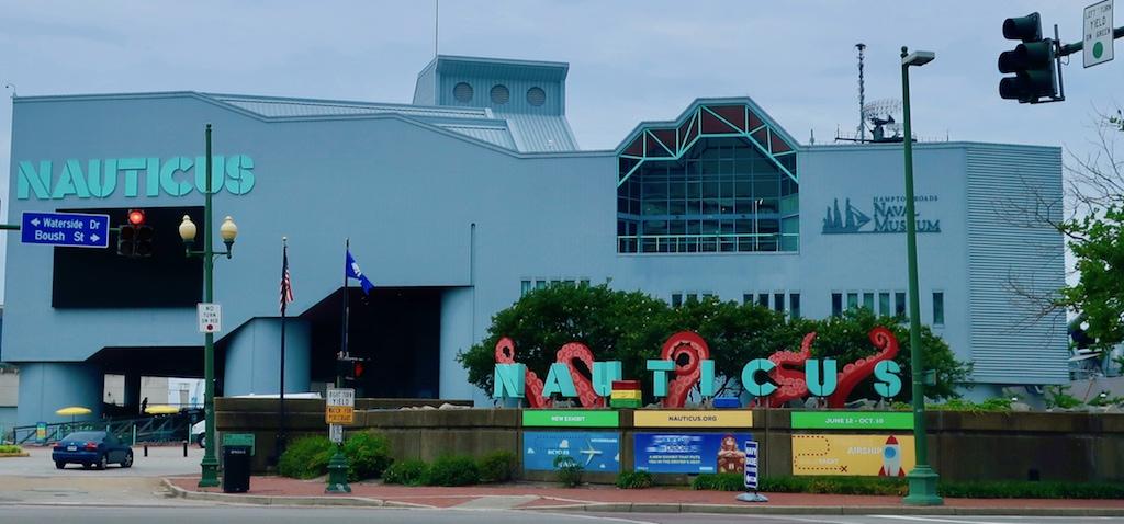 Nauticus Museum complex Norfolk VA