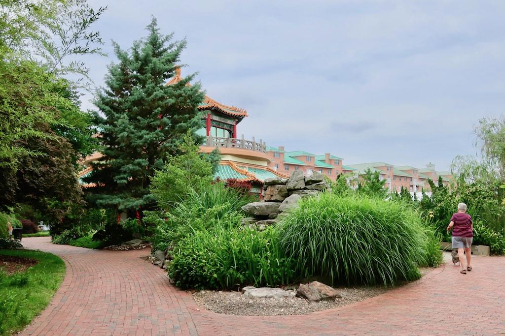 Norfolk Pagoda and Oriental Garden
