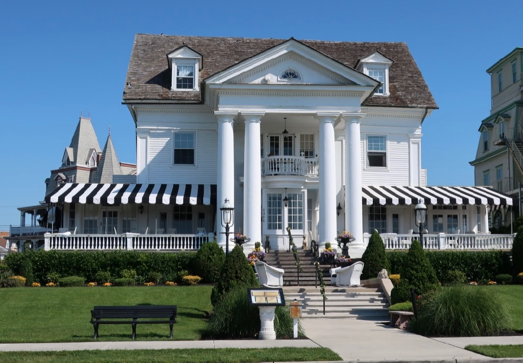 Peter Shields Cape May exterior shot