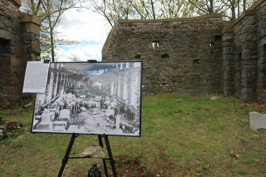Lyons Turning Mill in Operation photo Quincy MA