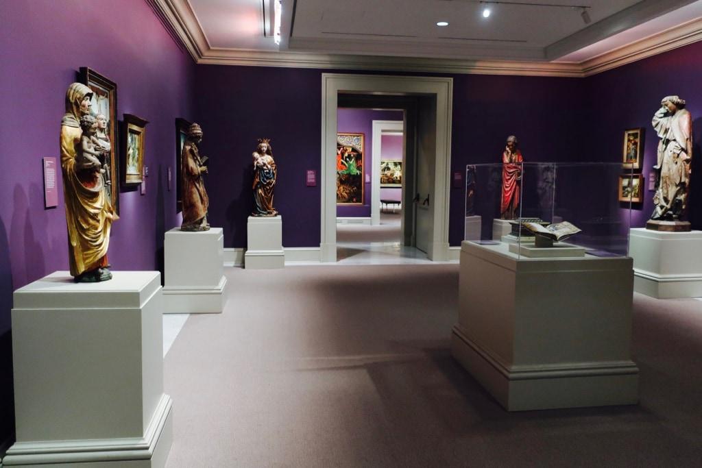 Purple Room Chrysler Museum of Art