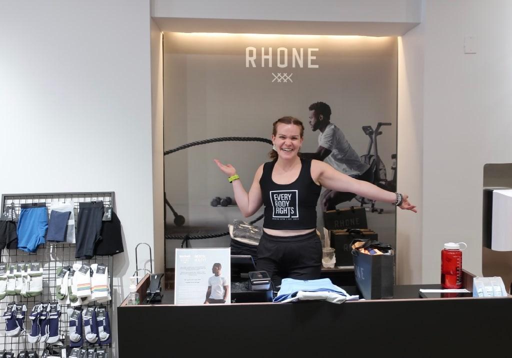 Rhone Apparel Store Newbury St Boston