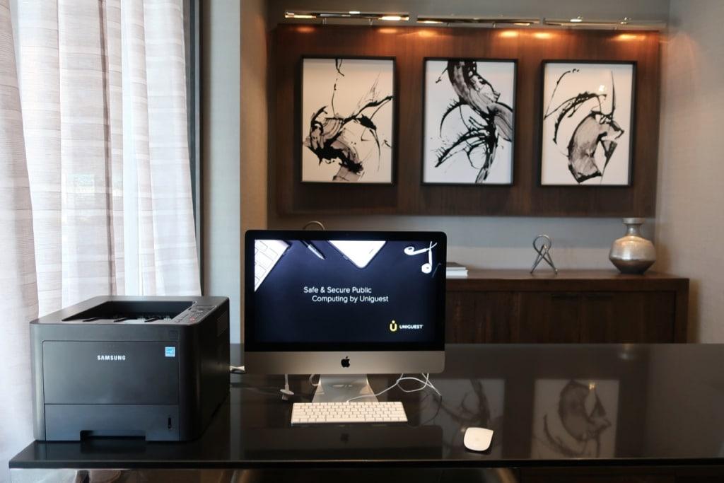 Staybridge-Holiday-Inn-Guest-Computer-Printer Quincy MA