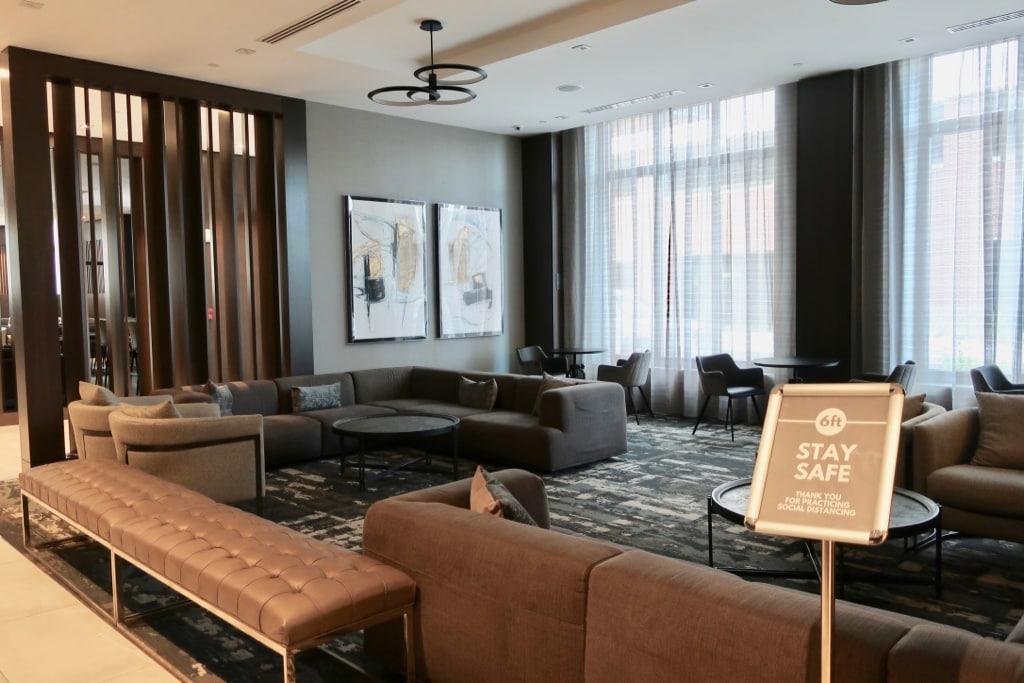 Staybridge Quincy MA lobby