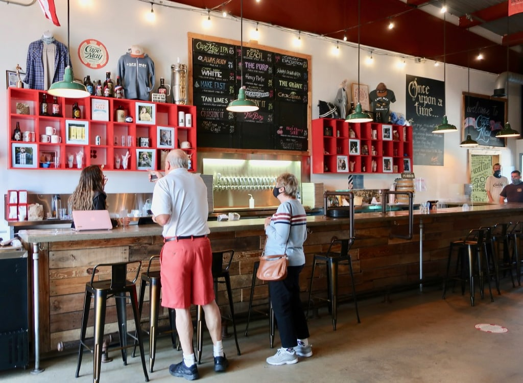 Cape May Brewing Tasting Room