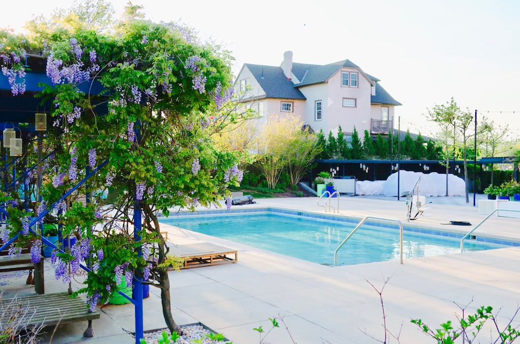 Pool at The Asbury Park Hotel NJ