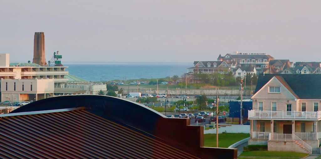 View of the ocean from Panoramic Suite The Asbury Hotel NJ