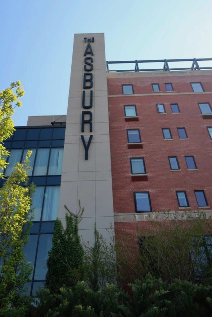 The Asbury Hotel exterior shot