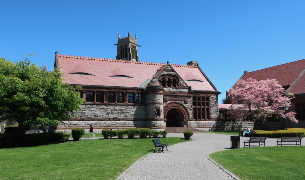 Thomas Crane Library designed by H.H. Richardson Quincy MA