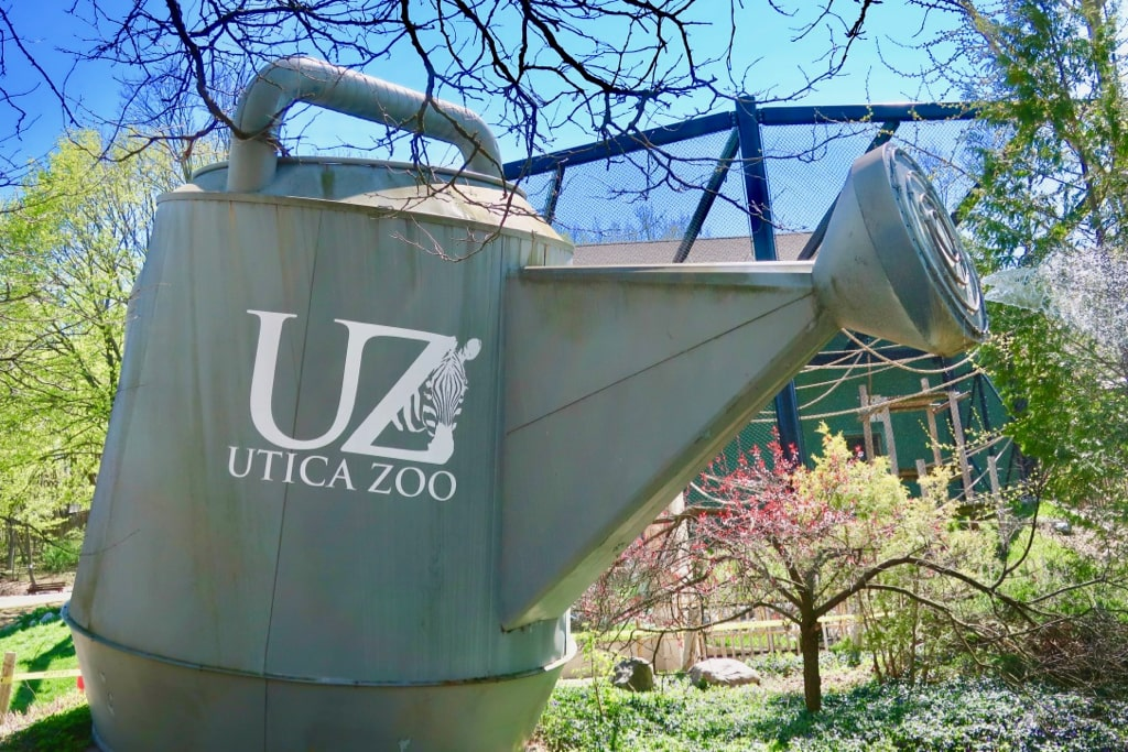 Worlds Largest Watering Can Utica Zoo NY