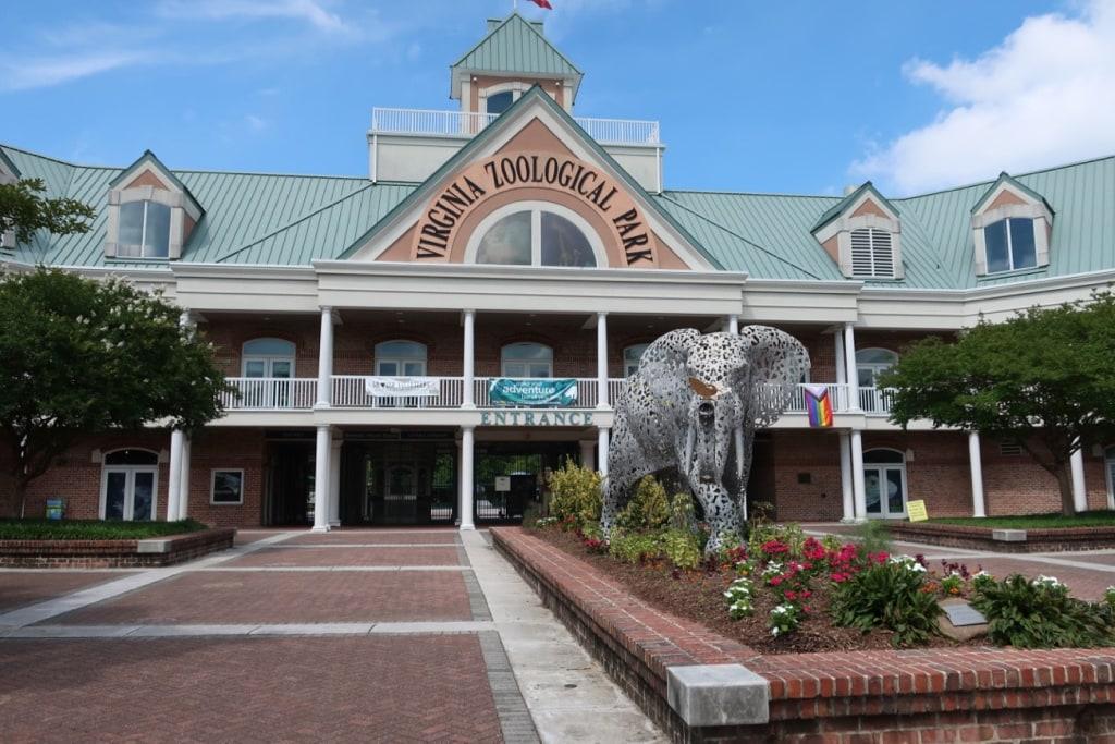 Virginia Zoo Entrance Norfolk