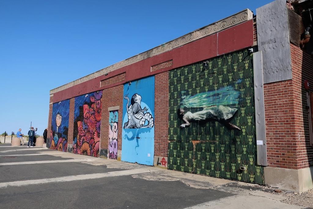 Wooden Walls Mural Arts Project Asbury Park NJ