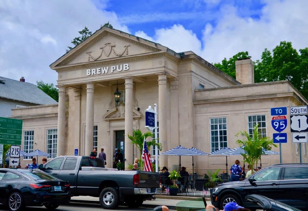 Bank and Bridge Brew Pub Mystic CT