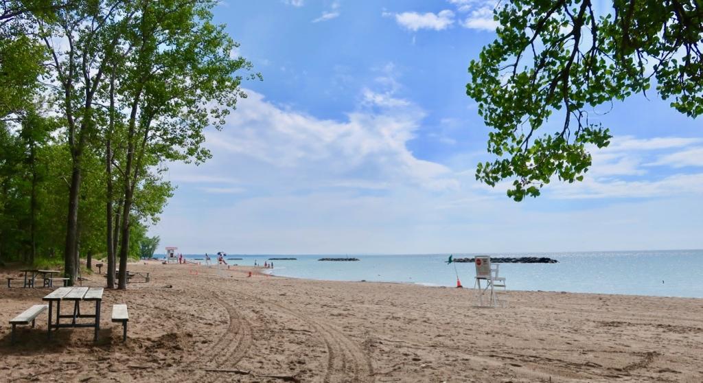 Presque Isle beach Erie PA