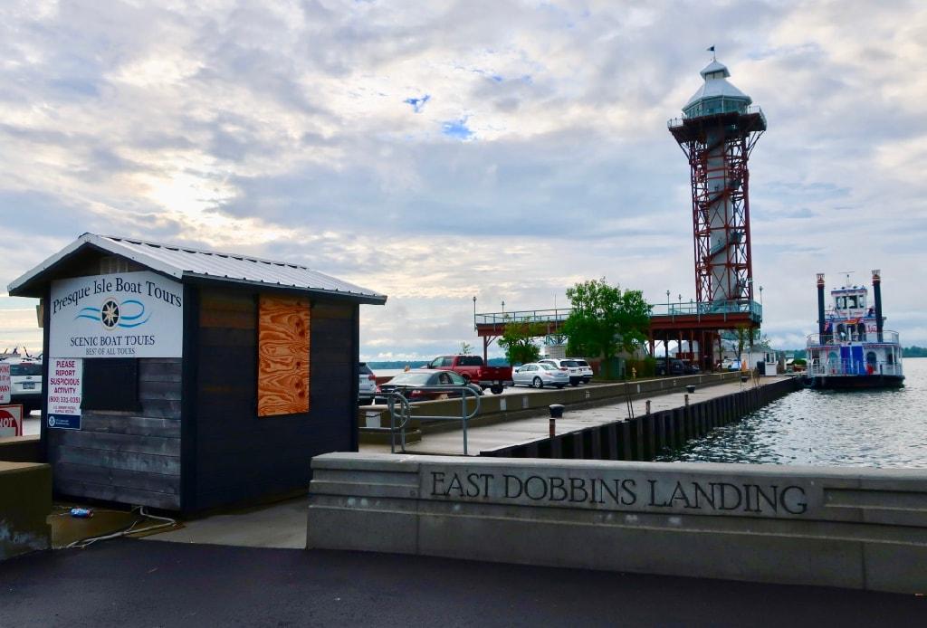 Dobbins Landing - Port of Erie tower PA