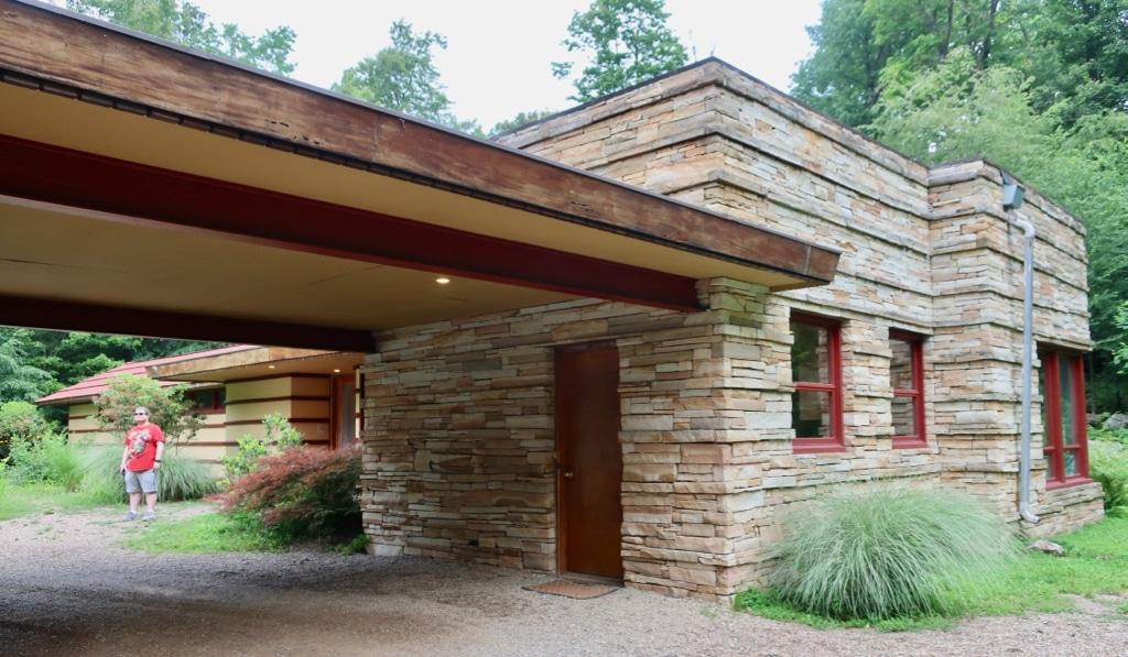 Frank Lloyd Wright Duncan Home at Polymath Park Laurel Highlands PA