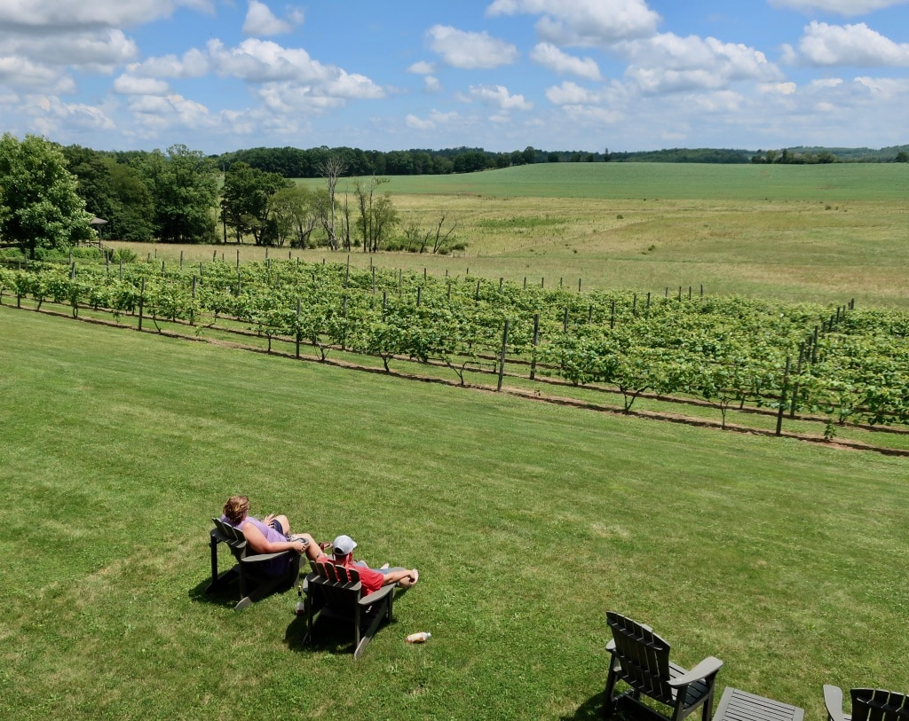 Glades Pike Winery views PA
