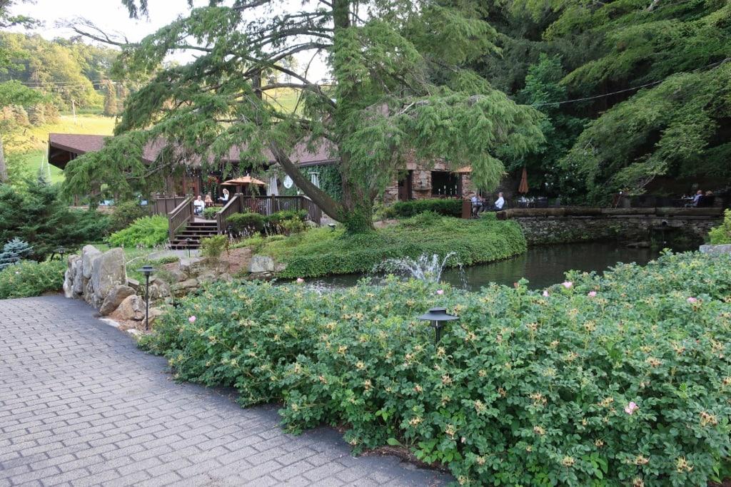 Helen's Restaurant nestled in woods at SSMR PA