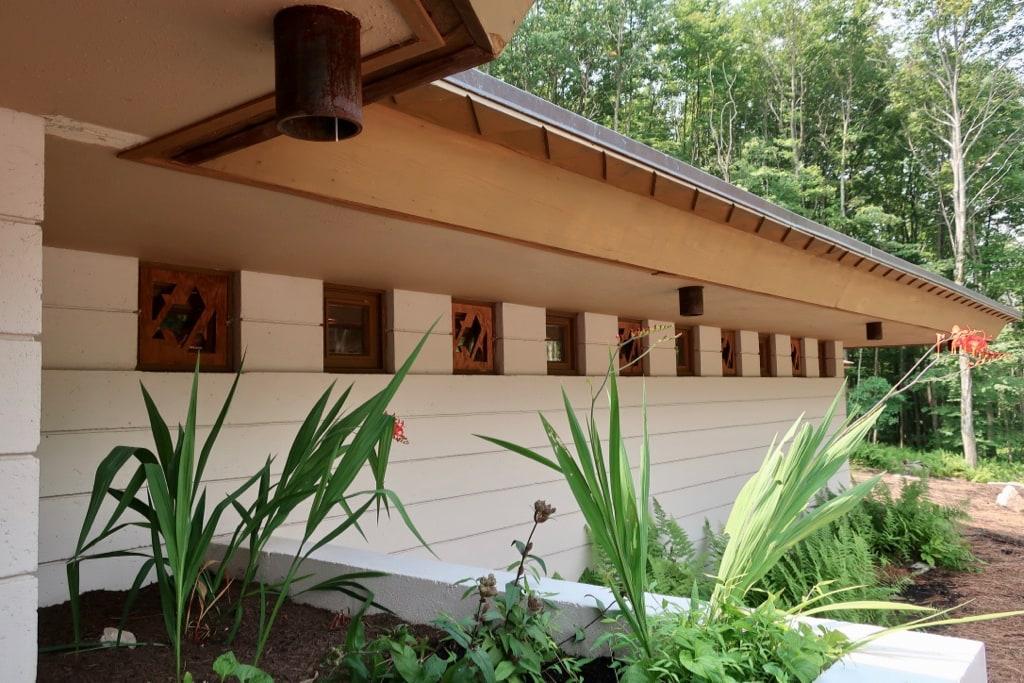 Mäntylä FLW home from Michigan now in Laurel Highlands PA Polymath Park