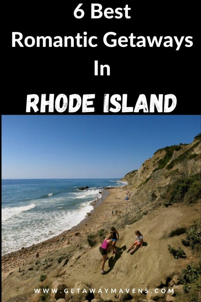 Romantic Rhode Island Pin