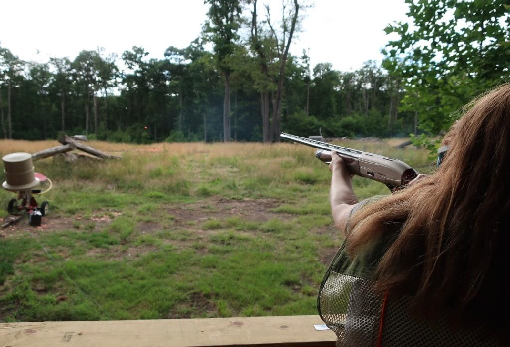 Shooting Clay Station at Seven Springs Mountain Resort PA