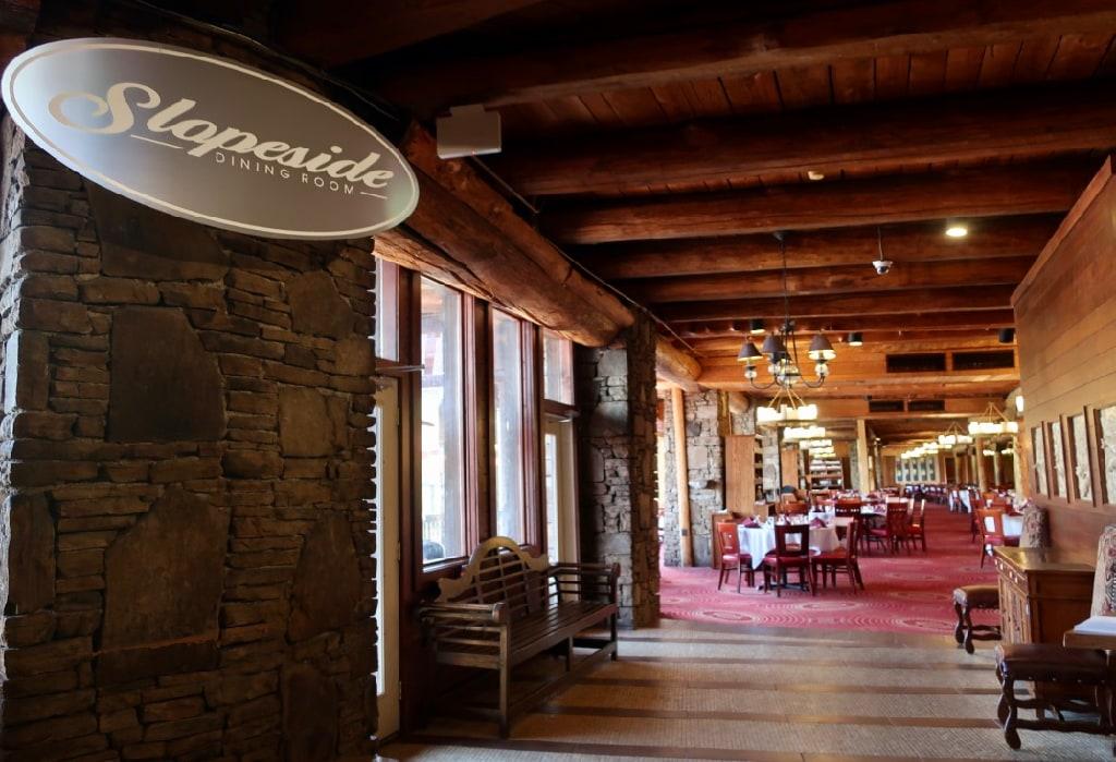 Slopeside Dining Room Seven Springs Mountain Resort PA