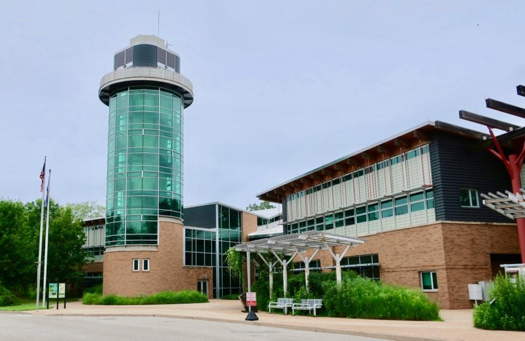 Tom Ridge Environmental Center Observation Tower Erie PA