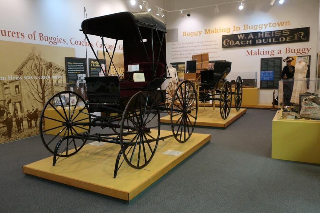 Buggy Makers Museum Visitors Center Mifflinburg PA