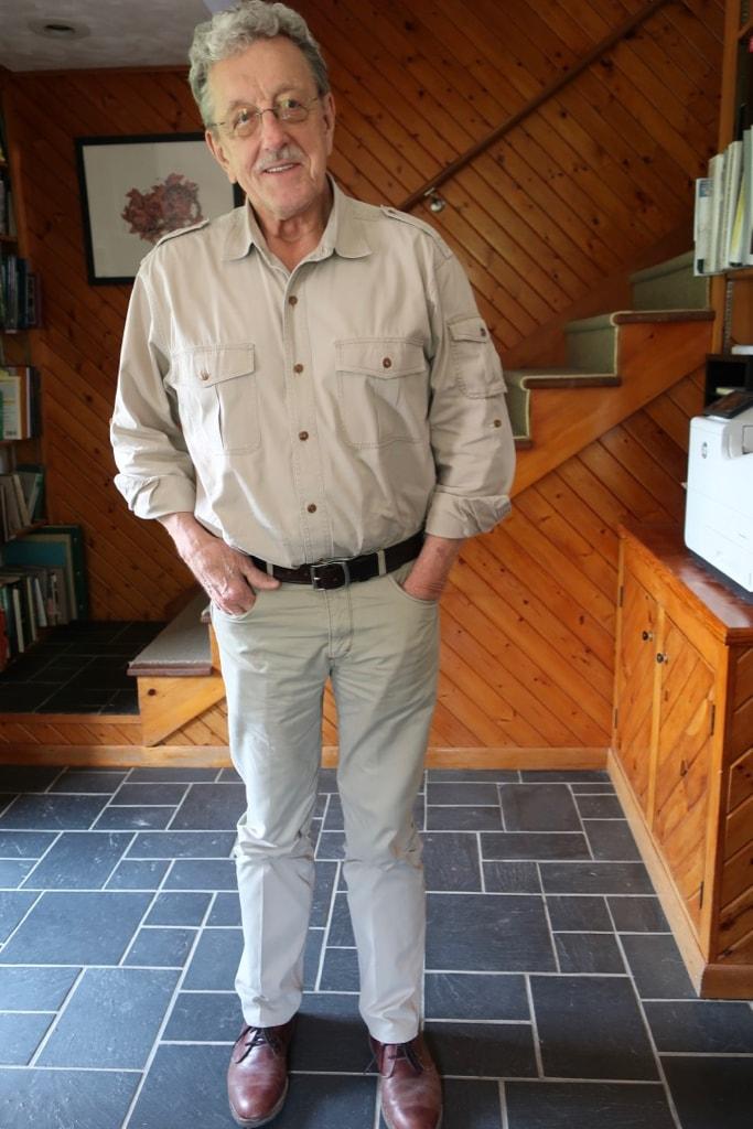 Clyde Peeling, owner, Reptiland Allenwood PA