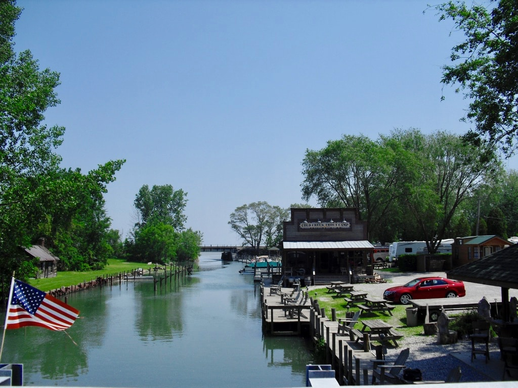 Cold Creek Trout Camp year round fishing Sandusky OH